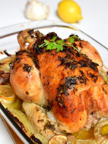 Assez Poulet rôti au fenouil | Ma Jolie Food LE89