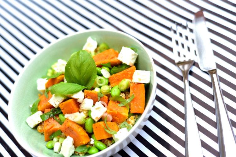 Salade couscous et patate douce
