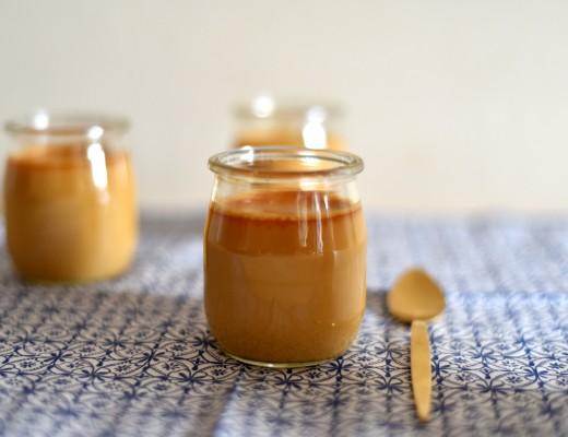 Pots de crème au caramel