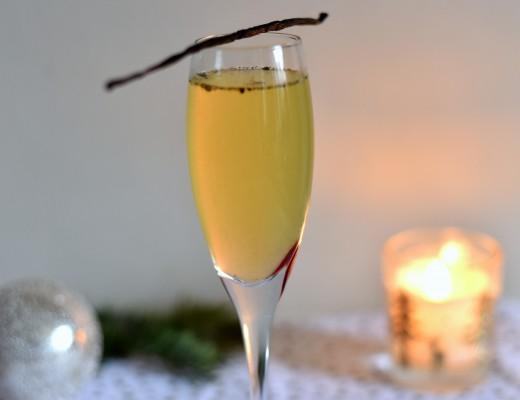 cocktail champagne des îles