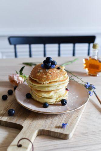 Pancakes à la myrtille