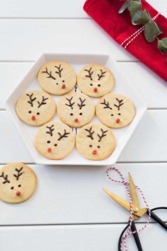 Sablés rennes de Noël
