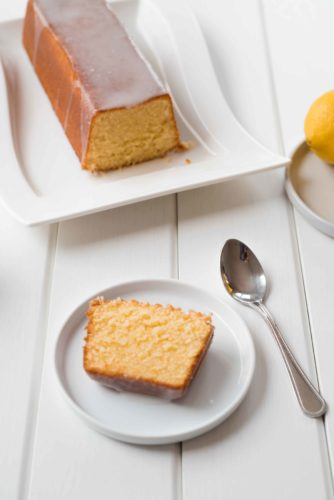 Gâteau tout moelleux au citron