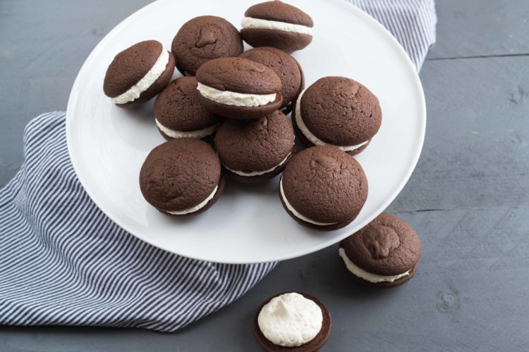 whoopies pies au Marshmallow fluff