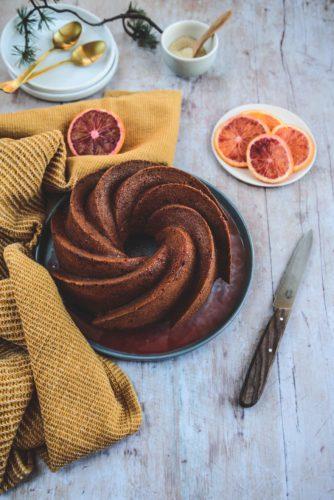 Bundt cake oranges sanguines