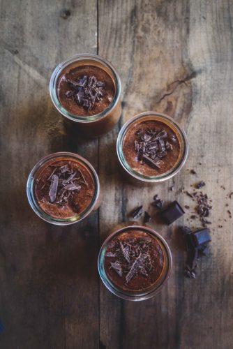craquantes mousses au chocolat