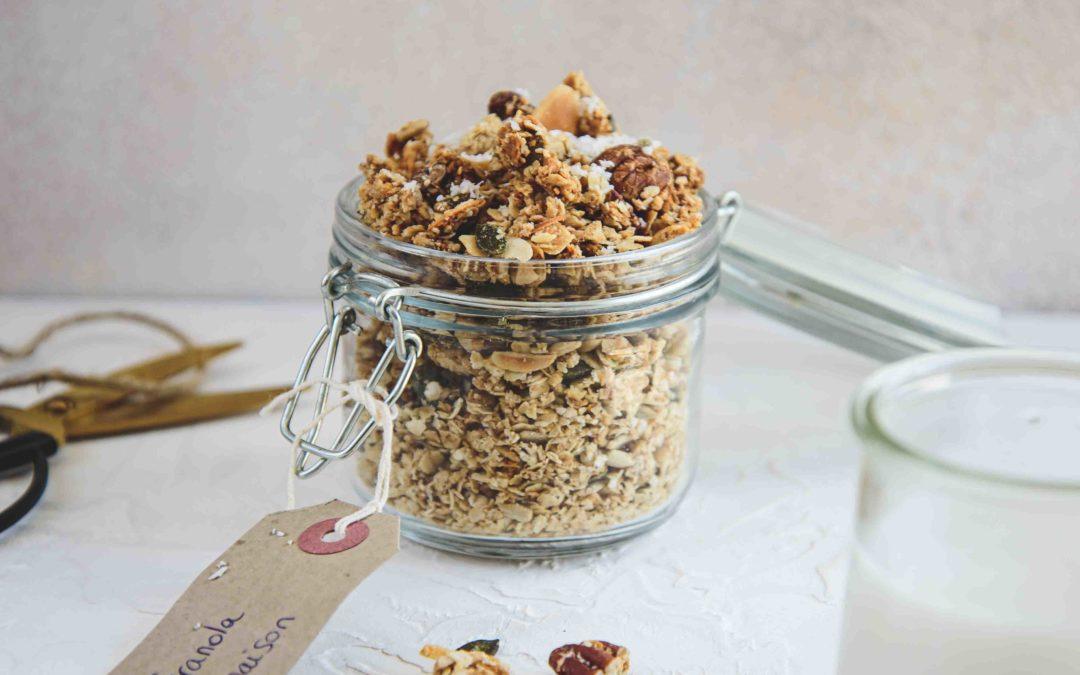 Granola aux noix de pécan