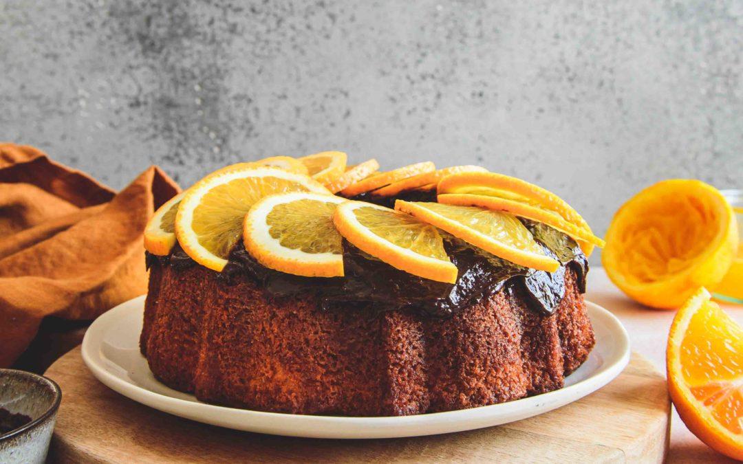 Bundt Cake moelleux orange chocolat