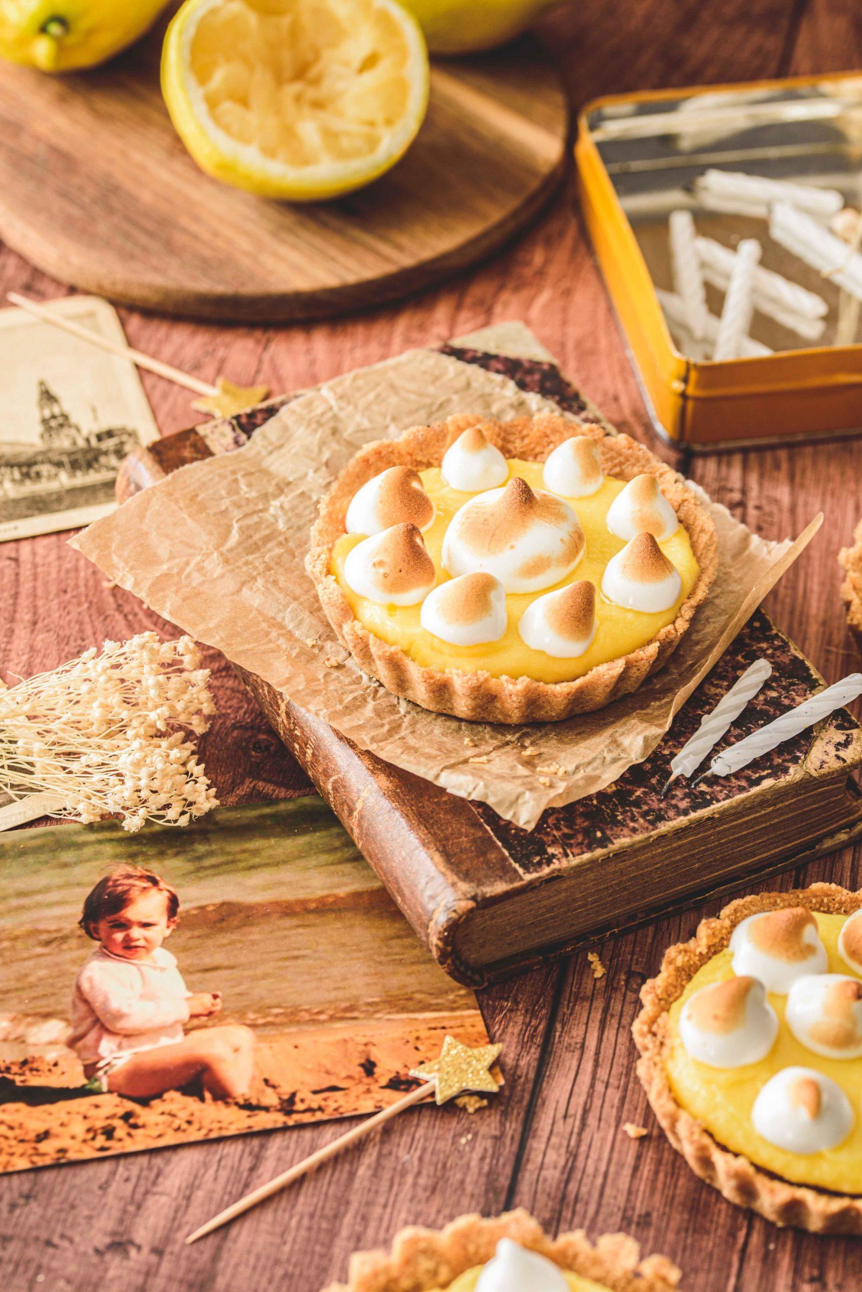 Tarte citron et meringues {sans cuisson au four}