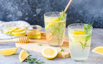 Romarin, citron et miel détoxifiant
